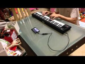 Connect Midi Keyboard with Android Mobile to Create Music