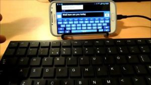 Connecting USB Enabled Keyboard with Android Device