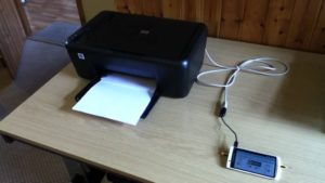 Printing using Android Device