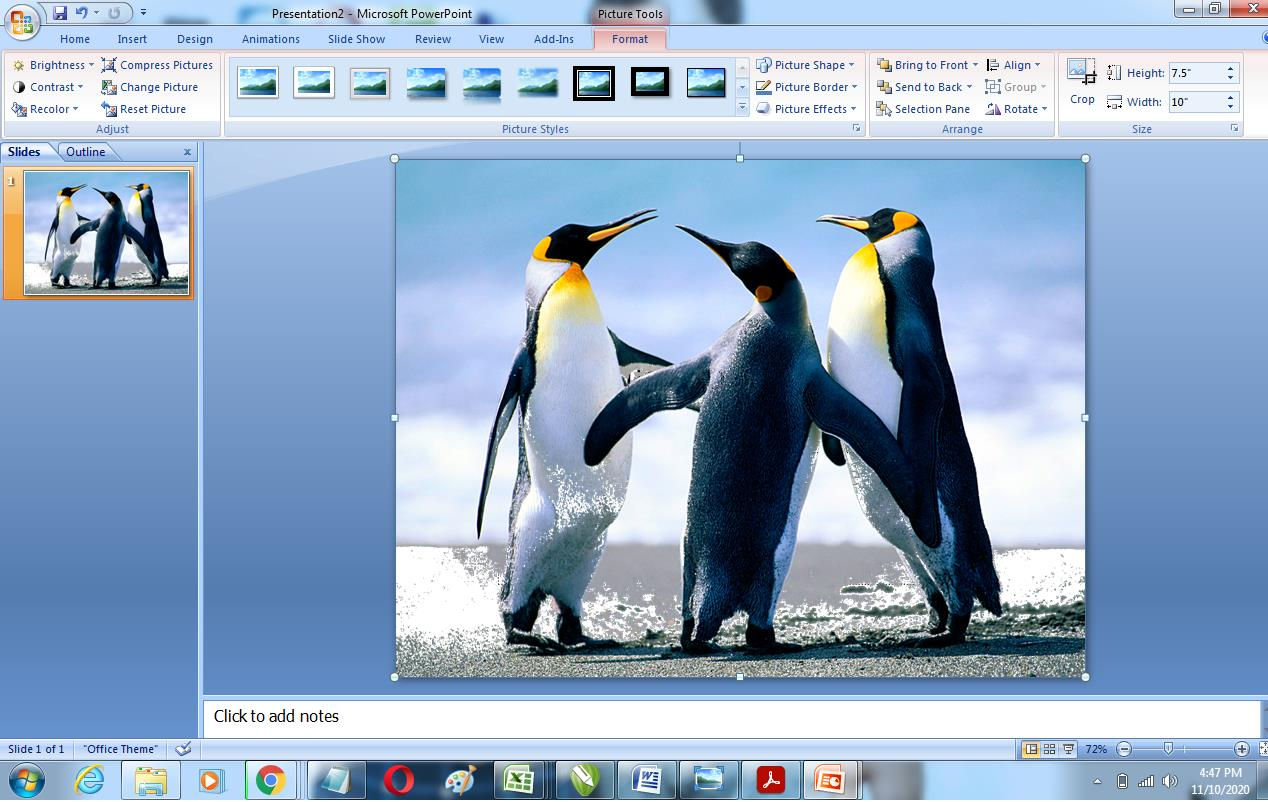 How to Remove Background of Image in Powerpoint 7