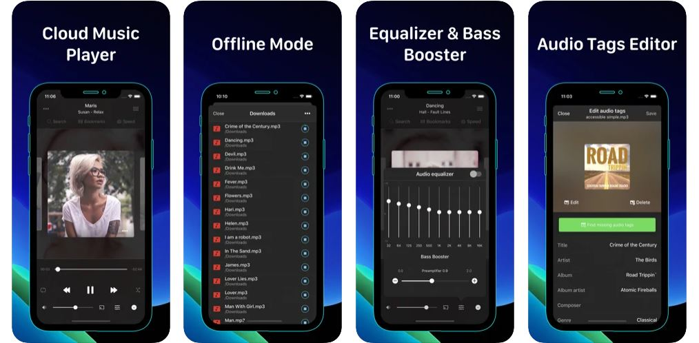 Best Free Offline Music Players for iPhone